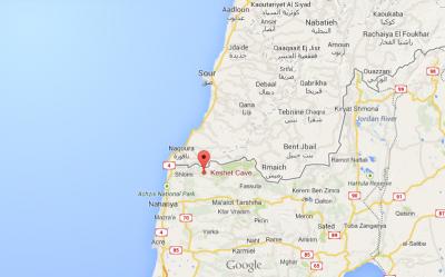 caves israel lebanon border