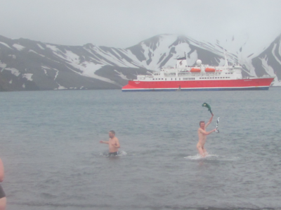 jonny blair backpacking naked antarctica