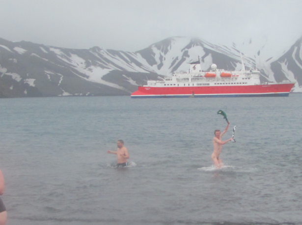 jonny blair backpacking naked antarctica