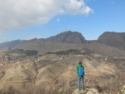 This is the view from the walls of Amadiya in Iraqi Kurdistan.