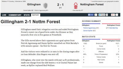 Nicky Barmby scores for Nottingham Forest.