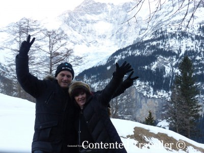 Paula and Gordon: Contented World Travellers.