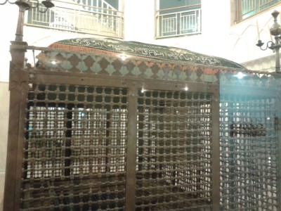 The old Imam Reza chamber.