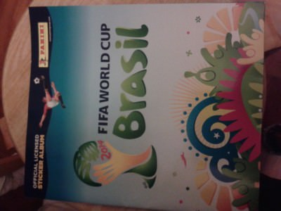 Got my Panini Sticker Album ready!