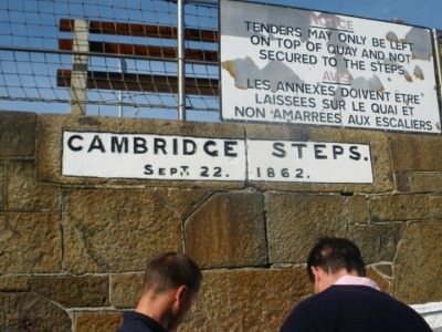 herm ferry cambridge steps