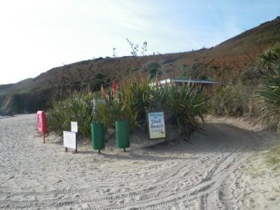 herm shell beach