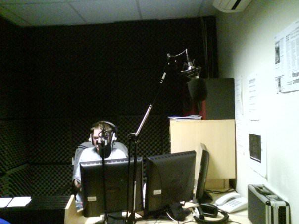 Jonny Blair on the Air at Nerve Radio