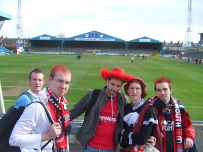 The day my team (AFC Bournemouth) got relegated at Brunton Park, Carlisle