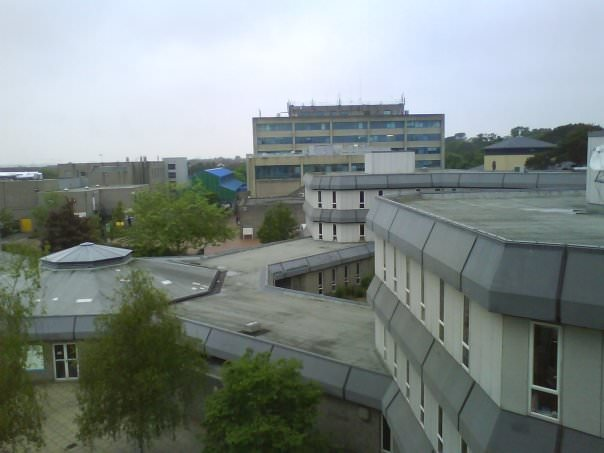Bournemouth University, Dorset, England: Venue for my naked FM radio show in 2005.