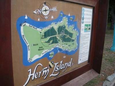 A map of Herm Island in its entirety - you can backpack the lot in one day trip ;-)