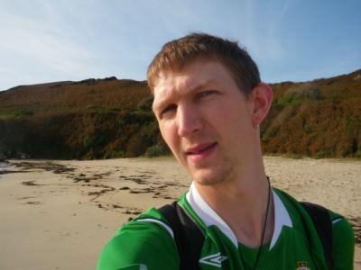 All alone on Shell Beach, Herm Island