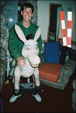 John Johnson shags a donkey - the night my mate f**ked a donkey in my living room!