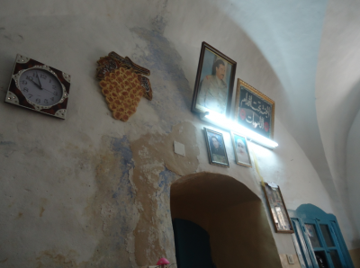 Inside the Palestinian House in Hebron