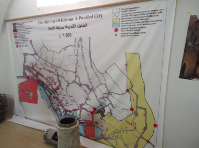 Inside the museum - Hebron - a Puzzled City