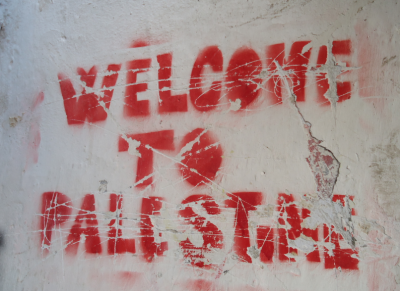 A reminder of where we are: This is Palestine