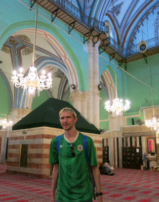 Inside the Ibrahami Mosque in Hebron H1