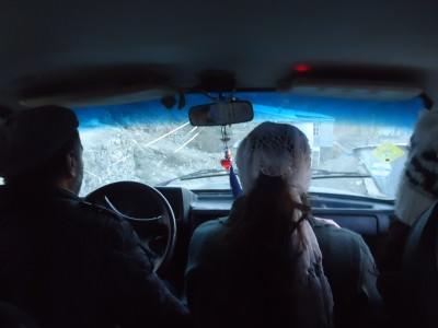 Out bumpy ride out of Xinaliq