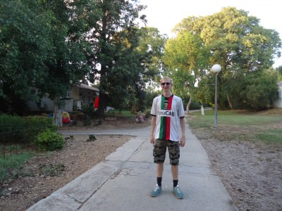 Backpacking in Israel - Mizra Kibbutz