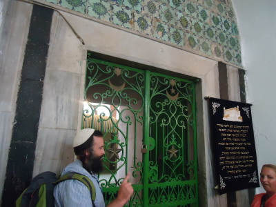 The Ibrahimi Mosque on this side is now a Jewish synagogue.