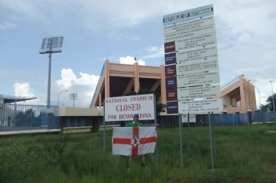 botswana football stadium