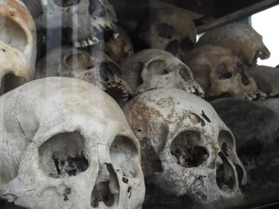 Scary Backpacking Journeys: Choeung Ek Killing Fields, Cambodia.