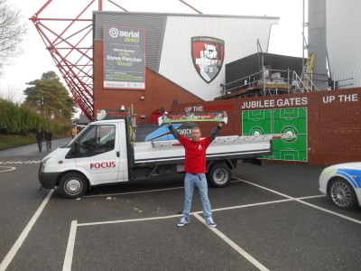 Dean Court in Bournemouth - football stadiums I've visited