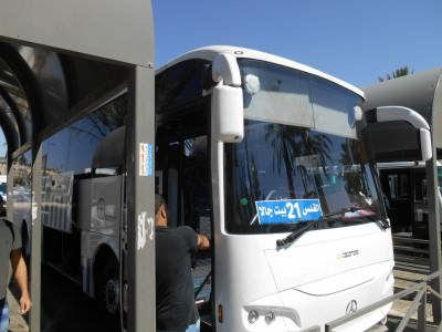 The bus to Palestine
