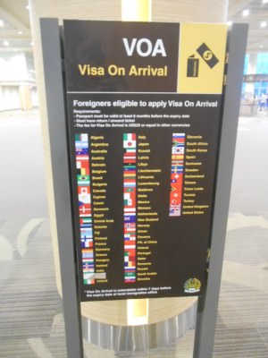What nationalities need a visa for Indonesia?