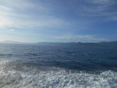 On the way to Atauro Island with Compass Divers