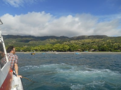 On the approach to Atauro Island.