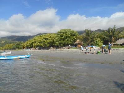 atauro island arrival