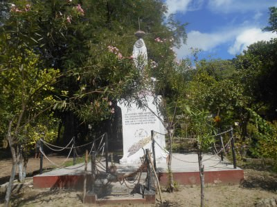 A monument in Vila