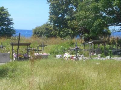 A cemetery on Atauro Island