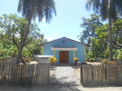 A Protestant Church in Beloi, Atauro Island.