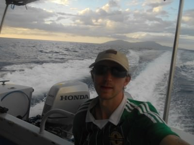 Cruising on the Wetar Strait between Dili and Atauro Island.