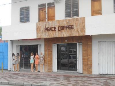 Peace Coffee in Dili, East Timor