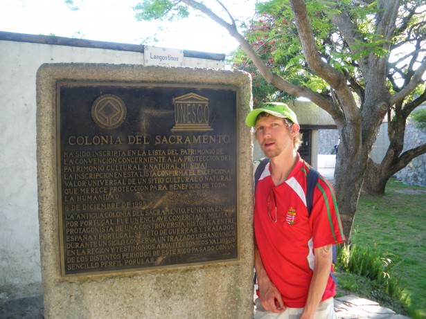 Backpacking in Uruguay in 2010 - Colonia del Sacramento