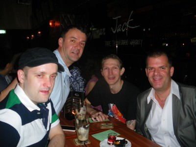On the CHARLIE pub crawl in Hong Kong in 2012