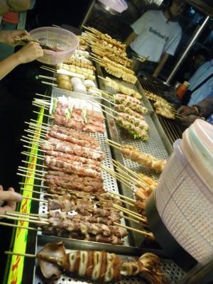 Night barbecue in Xinying, Taiwan