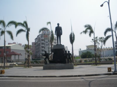 Monument in Xinying, Taiwan