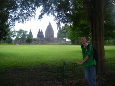 Backpacking in Java - Prambanan