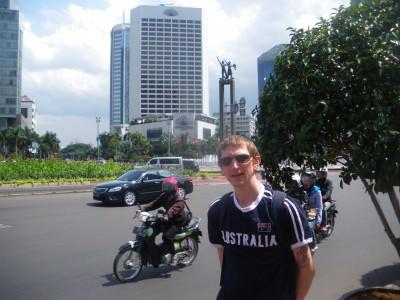 Backpacking in Jakarta, Indonesia
