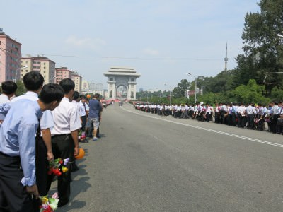 sungri street pyongyang