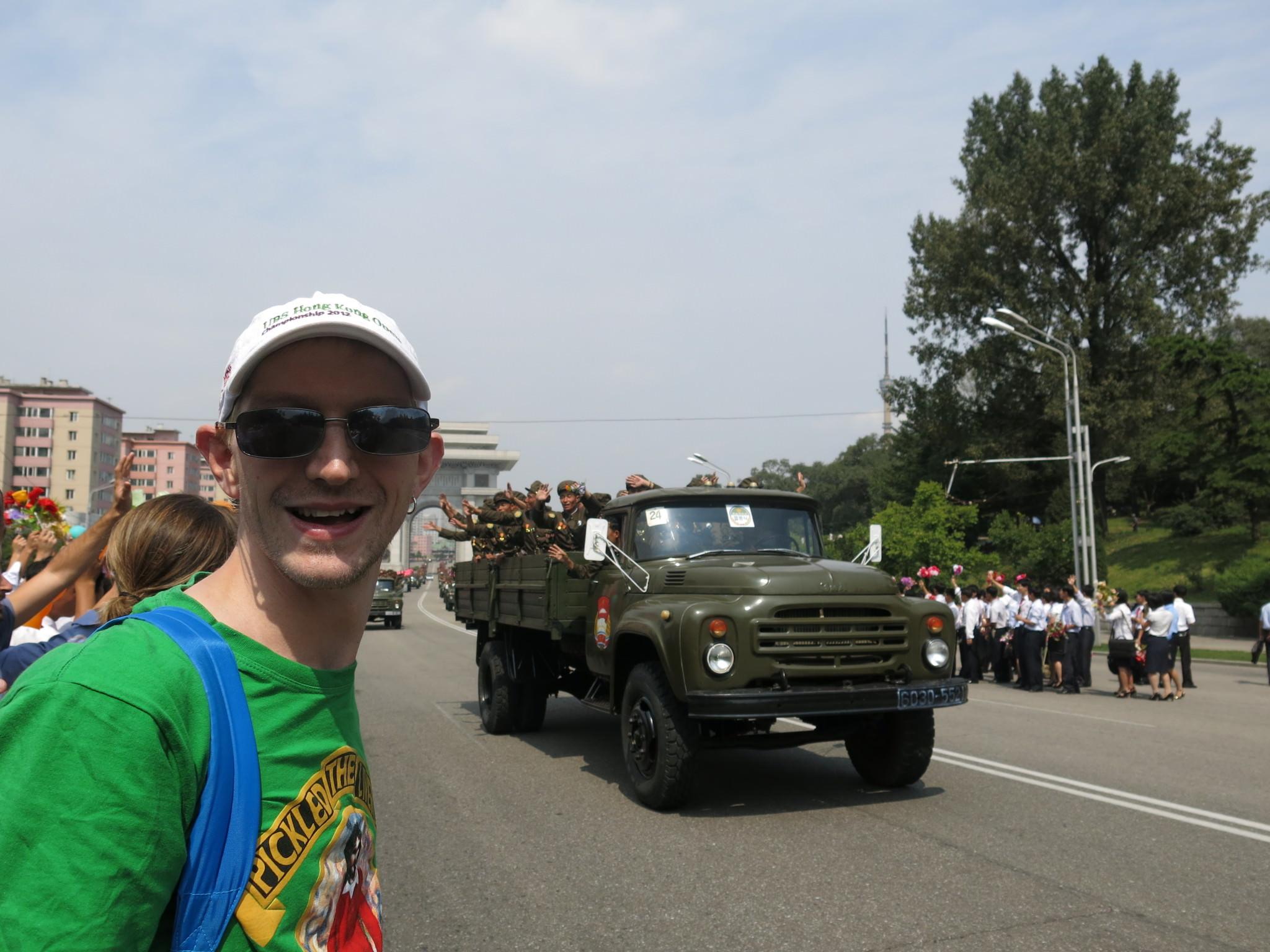 9th september 2013 national day parade in pyongyang north korea