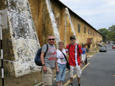 Backpacking in Sri Lanka with Mum and Dad - Galle Fort