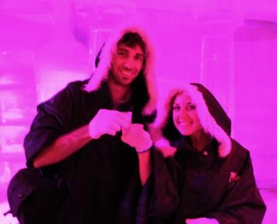 World Travellers in Purple: Justin Plus Lauren