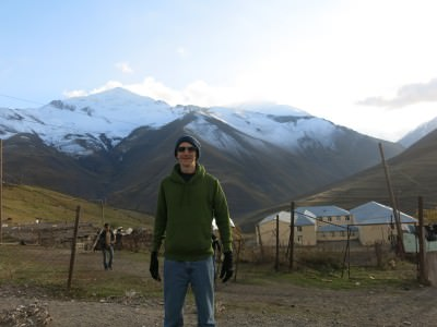 Backpacking in Azerbaijan - the remote village of XInaliq