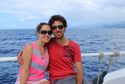 World Travellers: Justin plus Lauren, from Ontario, Canada.