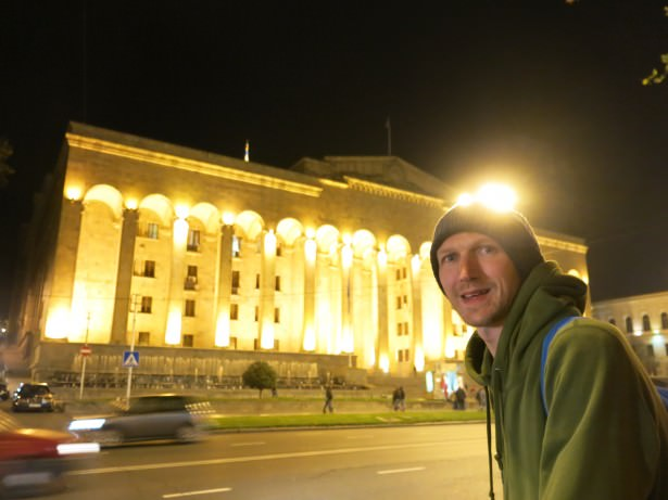 backpacking tbilisi