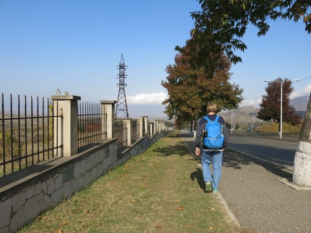 Backpacking in Stepanakert, Nagorno Karabakh - where?